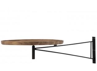 Nástěnný otáčecí stolek BAR - Ø 55*80cm