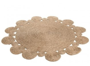 Kulatý koberec Vilandi - Ø 128*1 cm