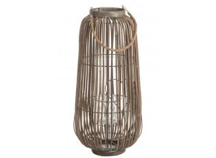 Bambusová lucerna Cylinder  - Ø35*73 cm