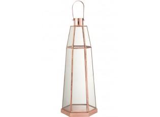 Kovová lucerna Hexagonal - Ø18*56 cm