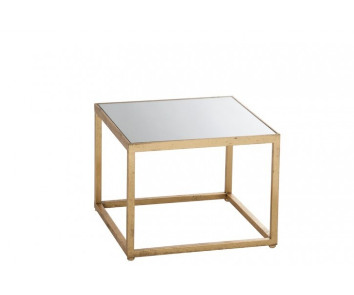 Odkládací stolek se skleněnou deskou
