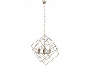 Kovový lustr Cube - 70*70*175 cm