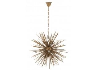 Kovový lustr Ball rays - Ø 70*135 cm