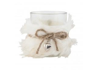 Chupatý svícen na čajovou svíčku - Ø 8*9 cm