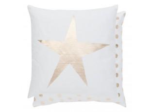 Povlak na polštář Choose to Shine zlatá hvězda - 40*40 cm