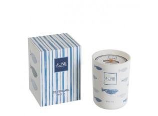 Vonná svíčka Blue Fish White Tea - 50hodin