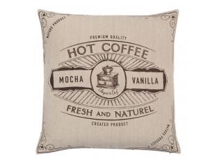 Povlak na polštář But First Coffee - 40*40 cm