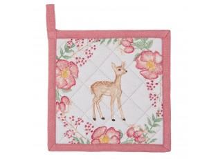 Dětská chňapka - podložka Sweet Deer - 16*16 cm
