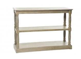 Konzolový stolek přírodní - 110*34*81 cm
