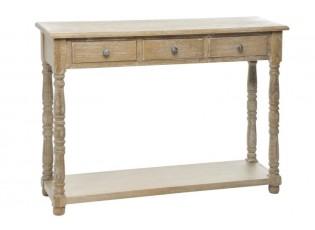 Konzolový stolek přírodní - 100*30*75 cm