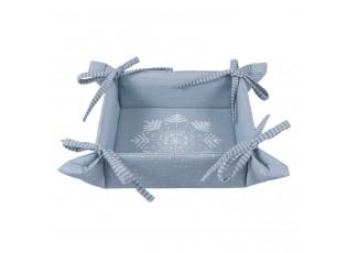 Oboustranný textilní košíček Winter Wishes - 35*35*8 cm