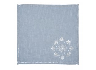 Textilní ubrousek Winter Wishes - 40*40 cm - sada 6ks