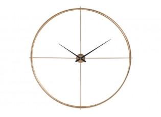 Kovové nástěnné hodiny Metgo- Ø 128*10 cm