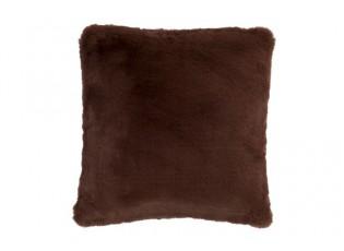 Hnědý polštář Cutie - 45*45 cm