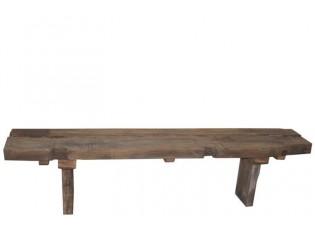 Dřevěná lavice Rough - 180*35*45 cm