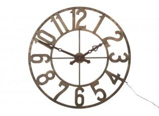 Nástěnné svítící hodiny Led Numbers - Ø 104 cm