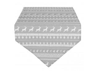 Běhoun na stůl Nordic Grey - 50*160 cm