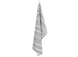 Utěrka Nordic Grey - 50*85 cm