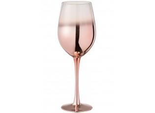 Sklenička na víno Copper Glass - Ø 9*26 cm