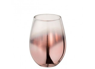 Sklenička na vodu Copper Glass - Ø 9*12 cm
