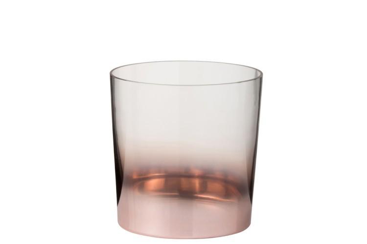 Sklenice na led na láhev Copper Glass - Ø 13*14 cm