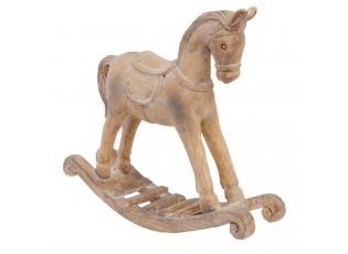 Dekorace houpací koník - 19*5*17 cm