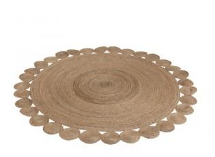 Kulatý koberec Oriental jutový - Ø220 cm