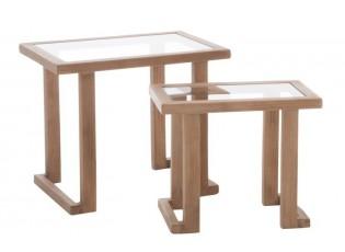Set dvou odkládacích stolků - 61*40*51 cm