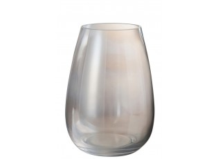 Skleněná váza Hurricane EGG L - 19*19*26 cm