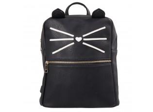 Černý batoh Cat - 24*11*28 cm