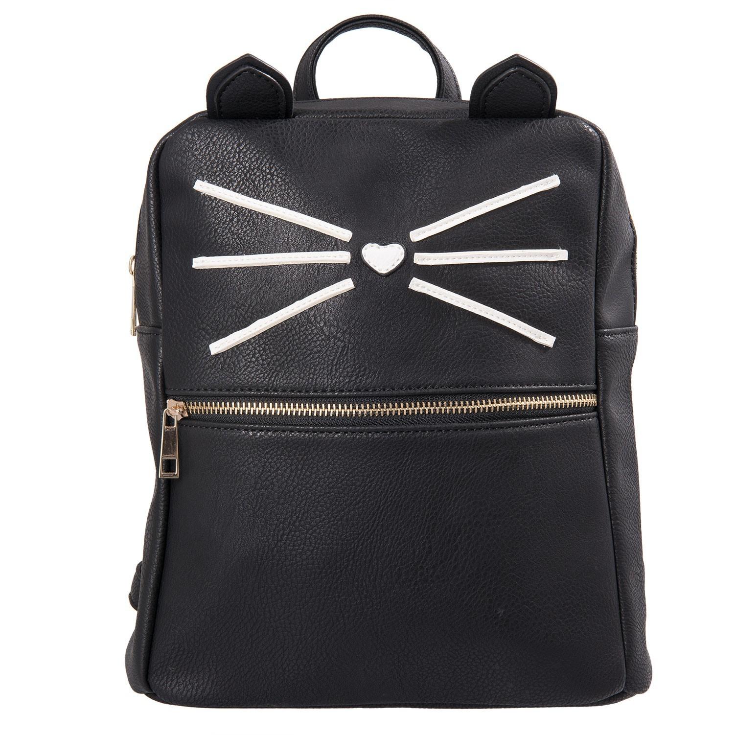 f0b8276d76 Černý batoh Cat - 24 11 28 cm