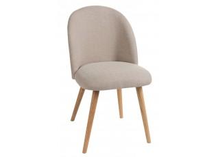 Židle Vincent béžová - 48*58*83 cm