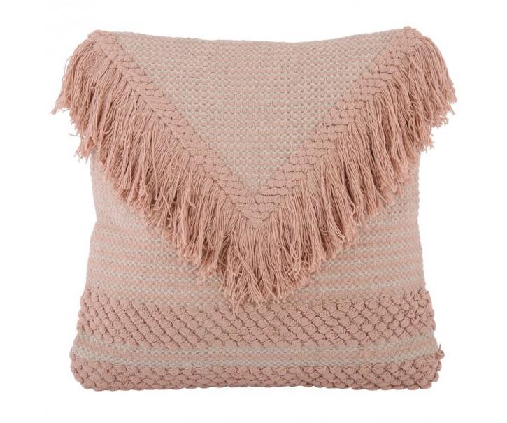 Růžový polštář s výplní Dana 45*45 cm