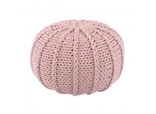 Světle růžový puff Ramo - Ø50*35 cm