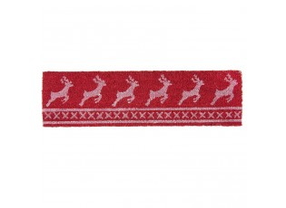 Kokosová rohožka Nordic Christmas  - 75*22*1 cm