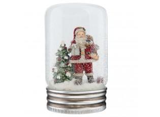 Sněžítko Santa - Ø 9*14 cm