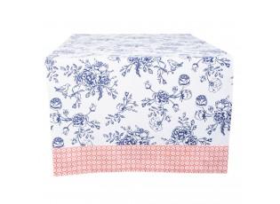 Ubrus na stůl Rose Garden Blue - 100*100 cm