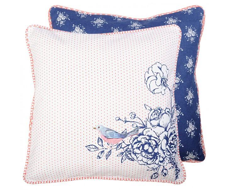 Povlak na polštář Rose Garden Blue - 40*40 cm