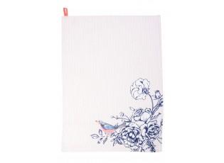 Kuchyňská utěrka Rose Garden Blue -  50*70 cm
