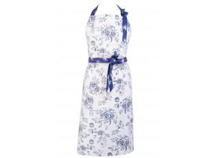Zástěra Rose Garden Blue -  80*92 cm