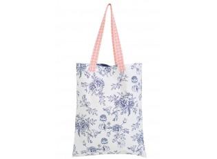 Látková taška Rose Garden Blue -   35*45/78 cm