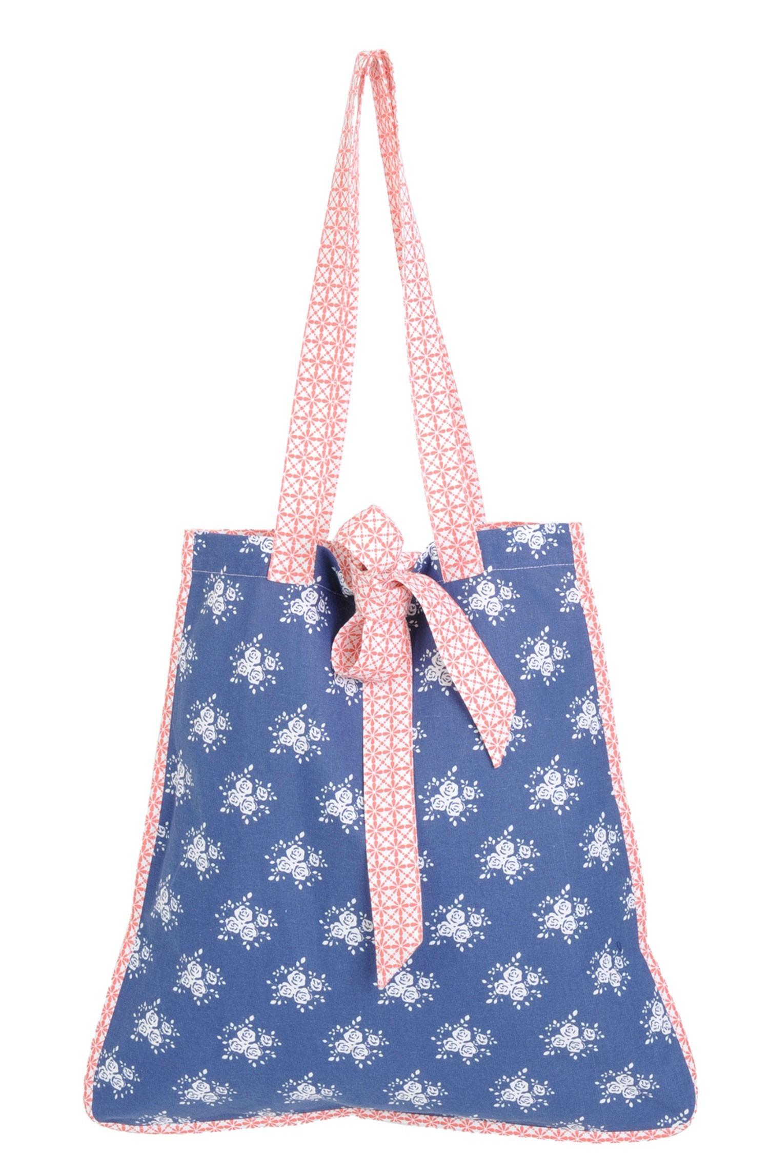 fe172d98b7 Látková taška Rose Garden Blue - 50 45 78 cm