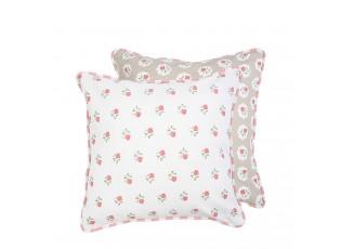 Povlak na polštář Dots & Roses  -  40*40 cm