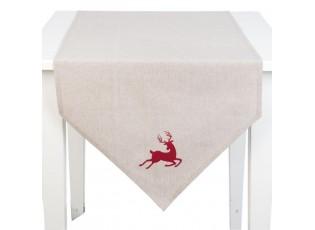 Běhoun na stůl Hello Deer  - 50*160 cm