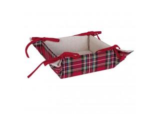 Textilní košíček na pečivo Hello Deer  - 35*35*8 cm
