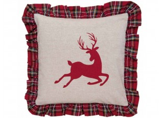 Povlak na polštář s volánky Hello Deer  - 40*40 cm