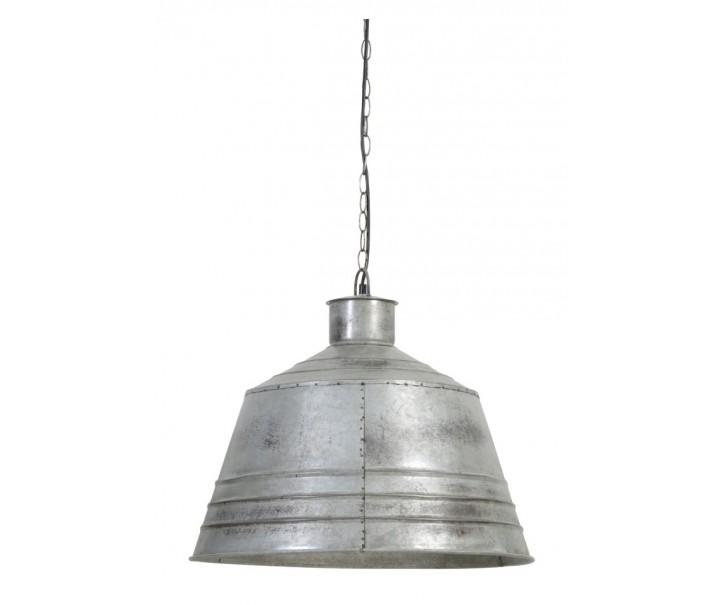 Závěsné světlo Brendy vintage stříbrné - Ø 55*50 cm