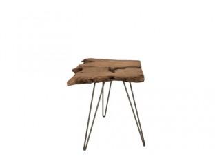 Dřevěný odkládací stolek - 45*35*49 cm
