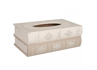 Box na papírové kapesníčky kniha - 27*16*10 cm