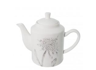 Konvička na čaj Chrome flowers - Ø 19*10*14 cm